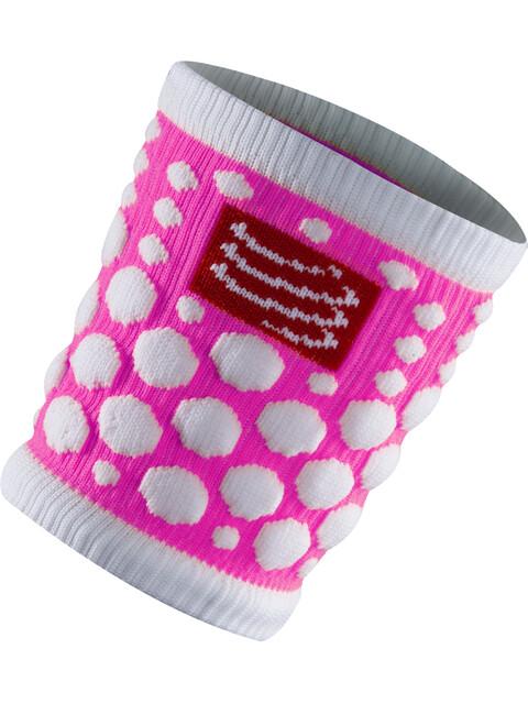 Compressport 3D Dots Sweatband Fluo Pink